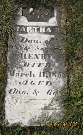 HENRY, MARTHA - Meigs County, Ohio | MARTHA HENRY - Ohio Gravestone Photos