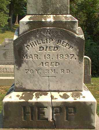 HEPP, PHILLIP - Meigs County, Ohio | PHILLIP HEPP - Ohio Gravestone Photos