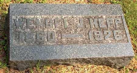 HEPP, WENDEL J. - Meigs County, Ohio | WENDEL J. HEPP - Ohio Gravestone Photos