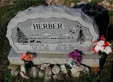 HERBER, KENNETH A. - Meigs County, Ohio | KENNETH A. HERBER - Ohio Gravestone Photos