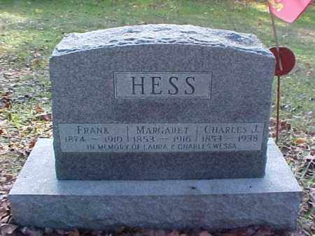 HESS, MARGARET - Meigs County, Ohio | MARGARET HESS - Ohio Gravestone Photos