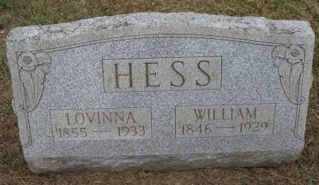 HESS, WILLIAM - Meigs County, Ohio | WILLIAM HESS - Ohio Gravestone Photos