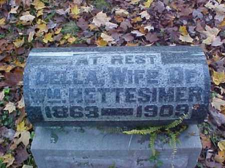 HETTESIMER, DELLA - Meigs County, Ohio | DELLA HETTESIMER - Ohio Gravestone Photos