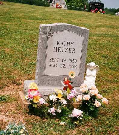 HETZER, KATHY - Meigs County, Ohio | KATHY HETZER - Ohio Gravestone Photos