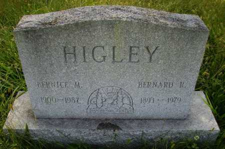 HIGLEY, BERNARD R. - Meigs County, Ohio | BERNARD R. HIGLEY - Ohio Gravestone Photos