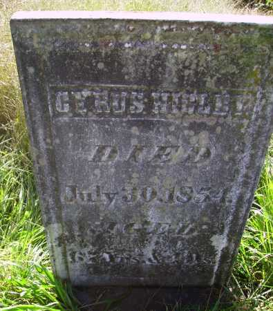 HIGLEY, CYRUS - Meigs County, Ohio | CYRUS HIGLEY - Ohio Gravestone Photos