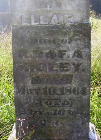 HIGLEY, ELLA E. - CLOSER VIEW - Meigs County, Ohio | ELLA E. - CLOSER VIEW HIGLEY - Ohio Gravestone Photos