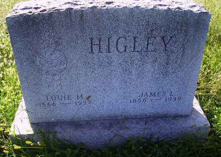 HIGLEY HIGLEY, LOUISE M. - Meigs County, Ohio | LOUISE M. HIGLEY HIGLEY - Ohio Gravestone Photos