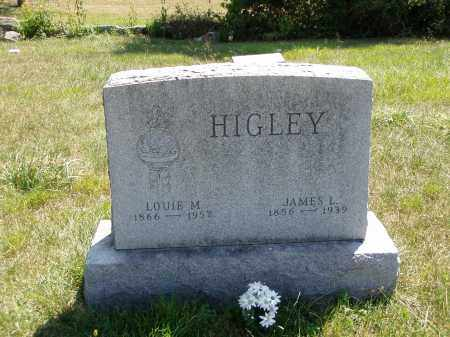 HIGLEY, JAMES L. - Meigs County, Ohio | JAMES L. HIGLEY - Ohio Gravestone Photos