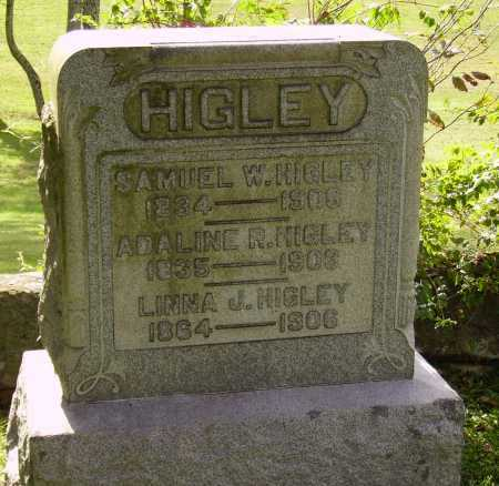 HIGLEY, LINNA J. - Meigs County, Ohio | LINNA J. HIGLEY - Ohio Gravestone Photos