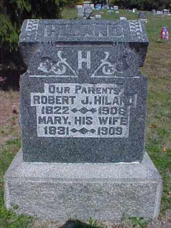 HILAND, ROBERT J. - Meigs County, Ohio | ROBERT J. HILAND - Ohio Gravestone Photos