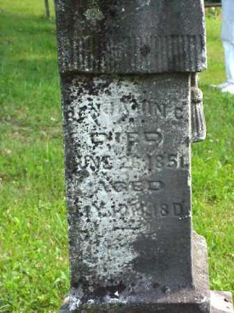 HILL, BENJAMIN C. - Meigs County, Ohio   BENJAMIN C. HILL - Ohio Gravestone Photos