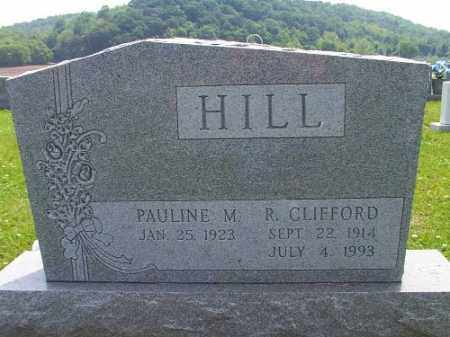 HILL, CLIFFORD - Meigs County, Ohio | CLIFFORD HILL - Ohio Gravestone Photos