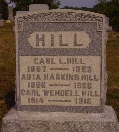 HILL, CARL WENDELL - Meigs County, Ohio | CARL WENDELL HILL - Ohio Gravestone Photos