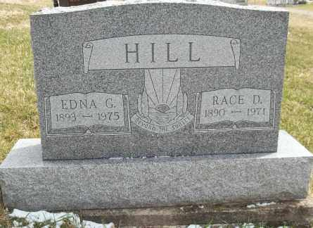 HILL, RACE - Meigs County, Ohio | RACE HILL - Ohio Gravestone Photos