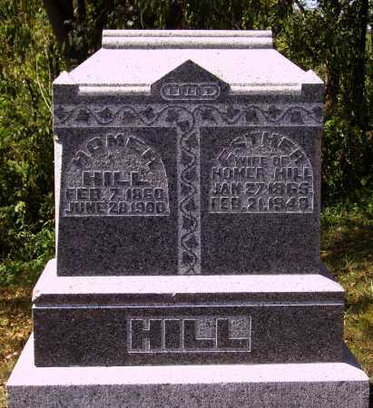 HILL, ESTHER - Meigs County, Ohio | ESTHER HILL - Ohio Gravestone Photos