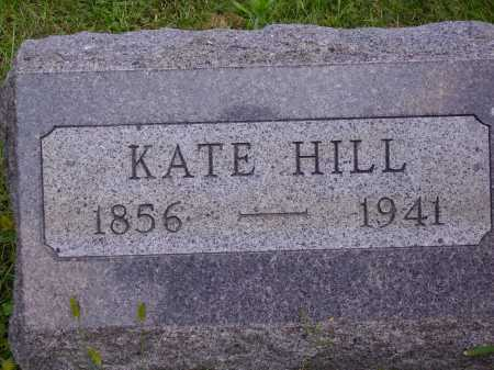 HILL, KATE - Meigs County, Ohio | KATE HILL - Ohio Gravestone Photos