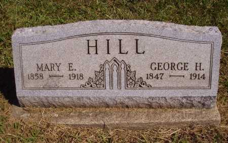 HILL, MARY E. - Meigs County, Ohio | MARY E. HILL - Ohio Gravestone Photos
