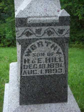HILL, WORTHY - Meigs County, Ohio | WORTHY HILL - Ohio Gravestone Photos
