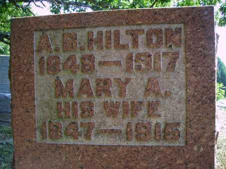 HILTON, MARY A. - CLOSEVIEW - Meigs County, Ohio | MARY A. - CLOSEVIEW HILTON - Ohio Gravestone Photos