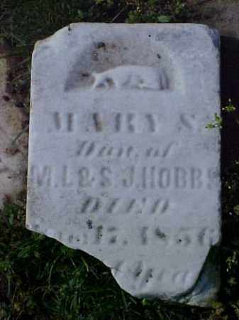 HOBBS, MARY S. - Meigs County, Ohio | MARY S. HOBBS - Ohio Gravestone Photos