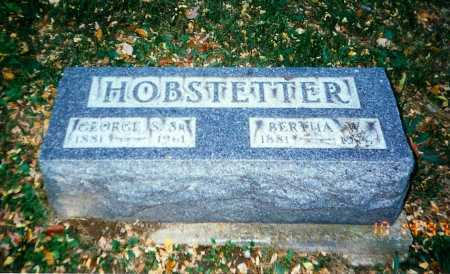 WILLIAMSON HOBSTETTER, BERTHA - Meigs County, Ohio | BERTHA WILLIAMSON HOBSTETTER - Ohio Gravestone Photos