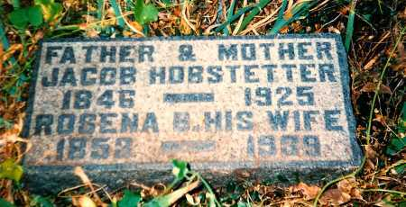 HOBSTETTER, JACOB - Meigs County, Ohio | JACOB HOBSTETTER - Ohio Gravestone Photos