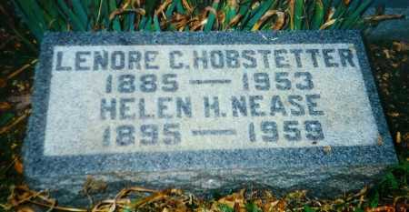 HOBSTETTER, LENORE C. - Meigs County, Ohio | LENORE C. HOBSTETTER - Ohio Gravestone Photos