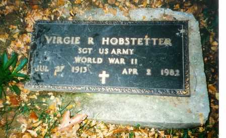 HOBSTETTER, VIRGIE R. - Meigs County, Ohio | VIRGIE R. HOBSTETTER - Ohio Gravestone Photos