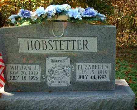 HOBSTETTER, ELIZABETH A. - Meigs County, Ohio | ELIZABETH A. HOBSTETTER - Ohio Gravestone Photos