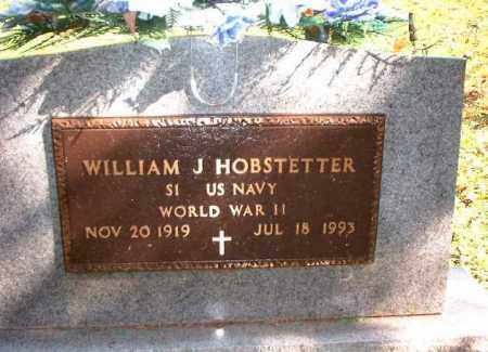 HOBSTETTER, WILLIAM J. - Meigs County, Ohio | WILLIAM J. HOBSTETTER - Ohio Gravestone Photos