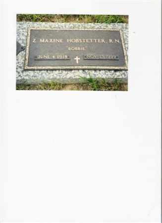 EBERSBACH HOBSTETTER, ZELDA MAXINE - Meigs County, Ohio | ZELDA MAXINE EBERSBACH HOBSTETTER - Ohio Gravestone Photos
