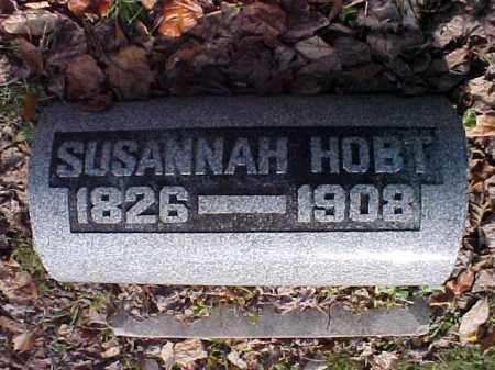 HOBT, SUSANNAH - Meigs County, Ohio | SUSANNAH HOBT - Ohio Gravestone Photos
