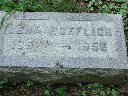 HOEFLICH, LENA - Meigs County, Ohio | LENA HOEFLICH - Ohio Gravestone Photos
