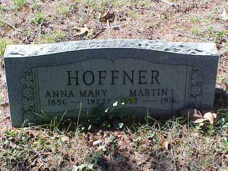 REIBEL HOFFNER, ANNA MARY - Meigs County, Ohio | ANNA MARY REIBEL HOFFNER - Ohio Gravestone Photos
