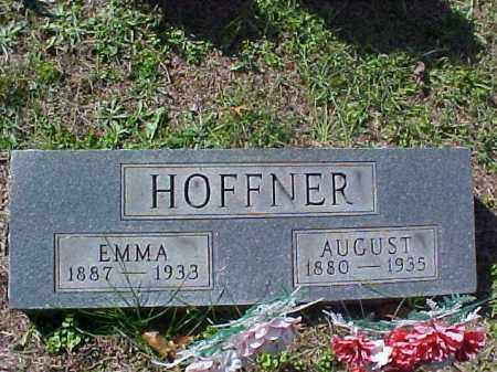 HOFFNER, AUGUST - Meigs County, Ohio | AUGUST HOFFNER - Ohio Gravestone Photos