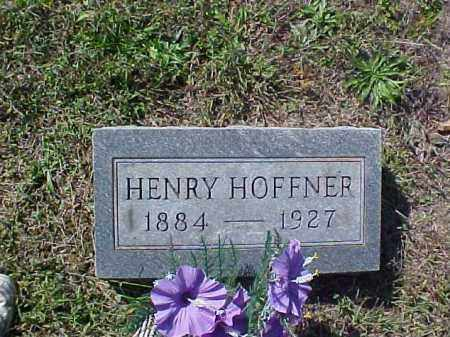 HOFFNER, HENRY - Meigs County, Ohio | HENRY HOFFNER - Ohio Gravestone Photos