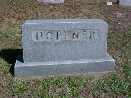 HOFFNER, MONUMENT - Meigs County, Ohio | MONUMENT HOFFNER - Ohio Gravestone Photos