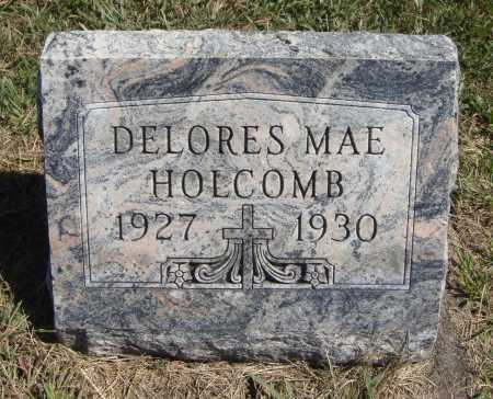 HOLCOMB, DELORES MAE - Meigs County, Ohio | DELORES MAE HOLCOMB - Ohio Gravestone Photos