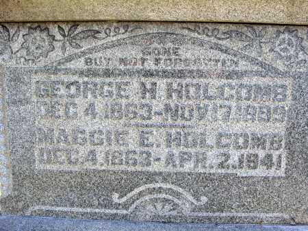 HOLCOMB, GEORGE H. - CLOSE VIEW - Meigs County, Ohio | GEORGE H. - CLOSE VIEW HOLCOMB - Ohio Gravestone Photos