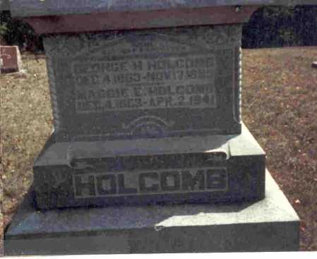 HOLCOMB, GEORGE H. - Meigs County, Ohio | GEORGE H. HOLCOMB - Ohio Gravestone Photos