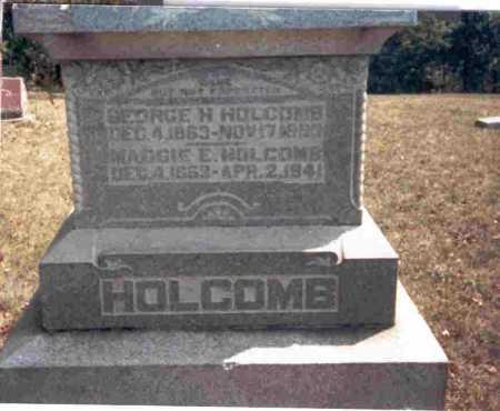 HOLCOMB, MAGGIE E. - Meigs County, Ohio | MAGGIE E. HOLCOMB - Ohio Gravestone Photos