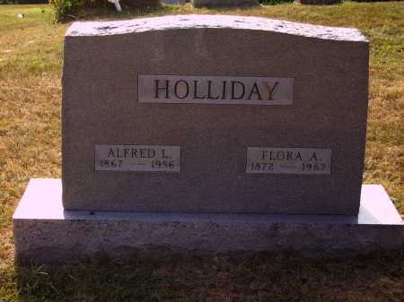 POND HOLLIDAY, FLORA A. - Meigs County, Ohio | FLORA A. POND HOLLIDAY - Ohio Gravestone Photos