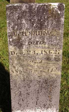HOLLIDAY, DANIEL, SEN - Meigs County, Ohio | DANIEL, SEN HOLLIDAY - Ohio Gravestone Photos