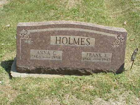 HOLMES, ANNA C. - Meigs County, Ohio | ANNA C. HOLMES - Ohio Gravestone Photos