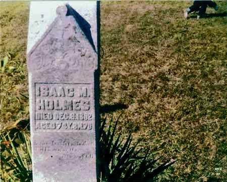 HOLMES, ISAAC M. - Meigs County, Ohio | ISAAC M. HOLMES - Ohio Gravestone Photos