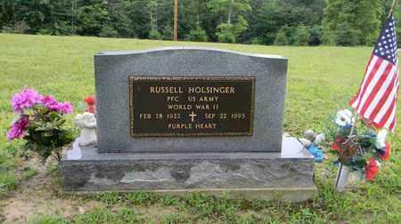 HOLSINGER, RUSSELL - Meigs County, Ohio | RUSSELL HOLSINGER - Ohio Gravestone Photos