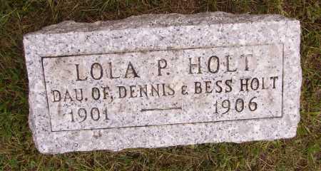 HOLT, LOLA P. - Meigs County, Ohio | LOLA P. HOLT - Ohio Gravestone Photos