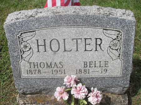 HOLTER, THOMAS - Meigs County, Ohio | THOMAS HOLTER - Ohio Gravestone Photos