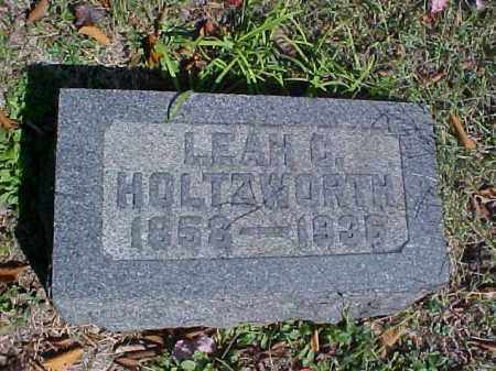 HOLTZWORTH, LEAH C. - Meigs County, Ohio | LEAH C. HOLTZWORTH - Ohio Gravestone Photos
